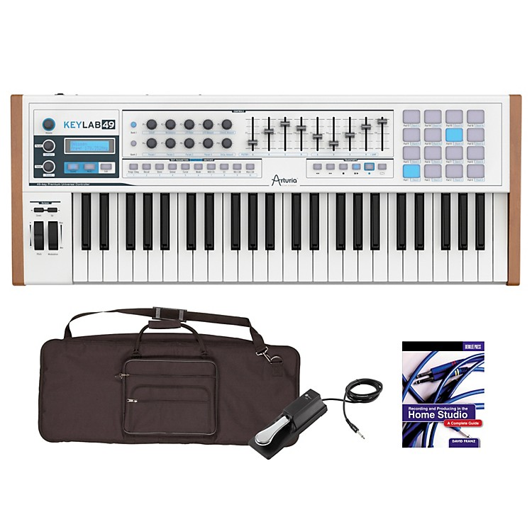 Arturia Keylab 49 Keyboard Controller Package 1
