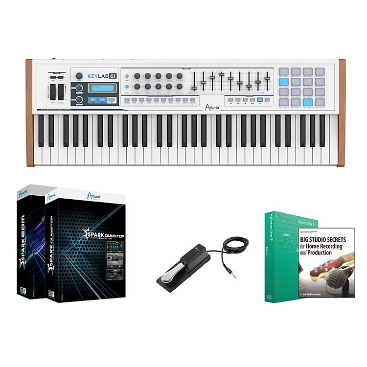 Arturia Keylab 61 Keyboard Controller Package 1