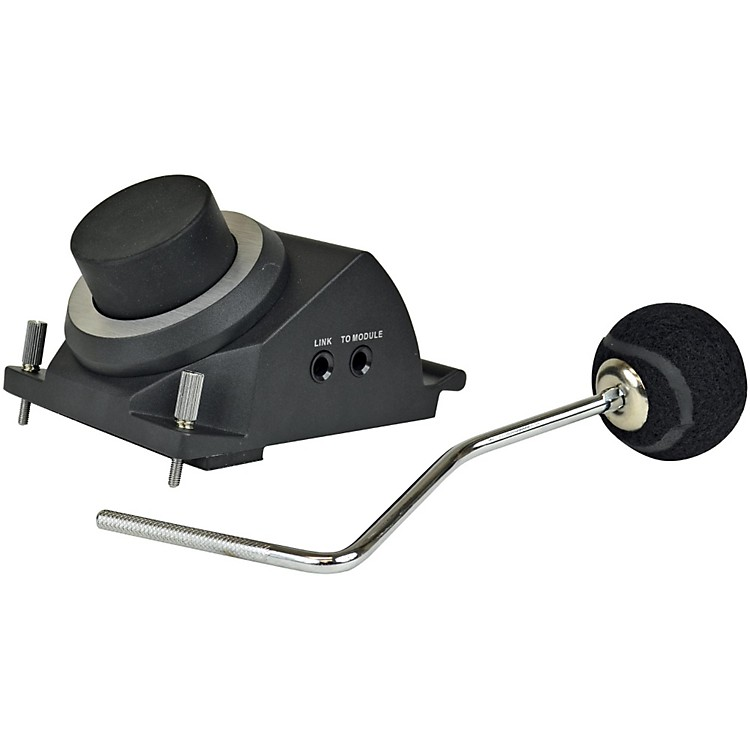 KAT PercussionKick Trigger Pad with Angled Beater