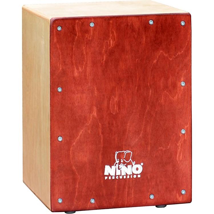 NinoKids CajonNatural BodyWine Red Front Plate