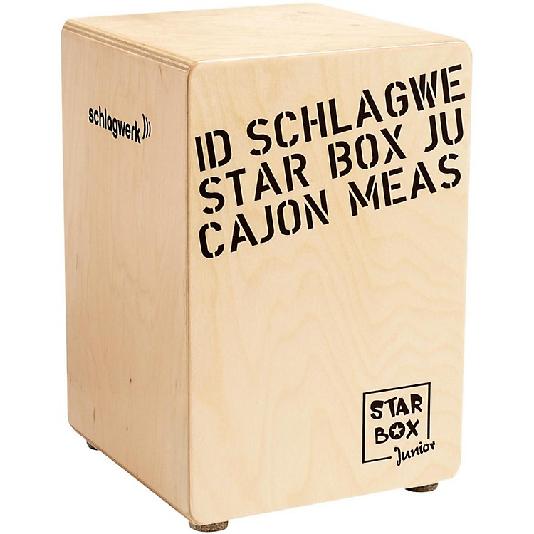 SCHLAGWERK Kids Cajon Star Box