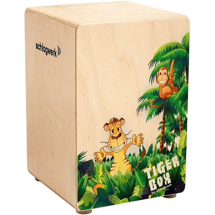 SCHLAGWERK Kids Cajon Tiger Box