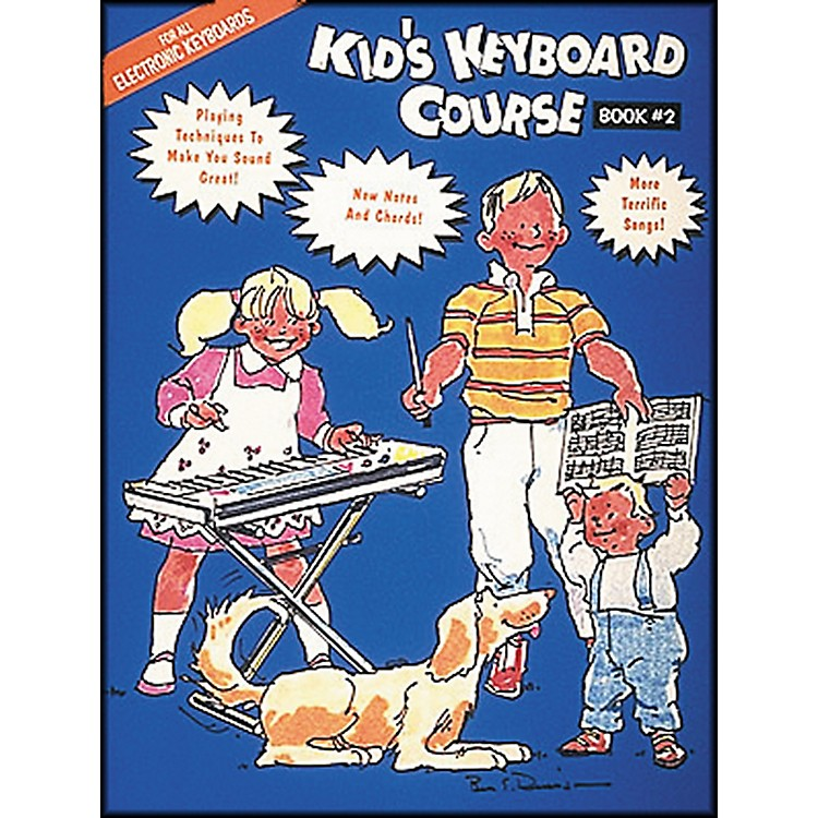 Hal Leonard Kids Keyboard Course Book 2 E-Z play Today