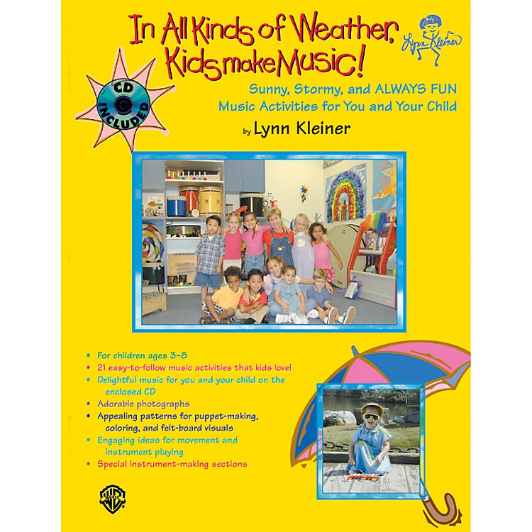 AlfredKids Make Music Series: In All Kinds of Weather, Kids Make Music Book & CD