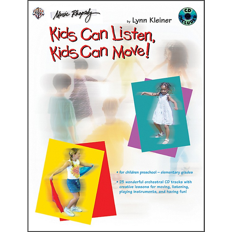 AlfredKids Make Music Series: Kids Can Listen, Kids Can Move! Book/CD