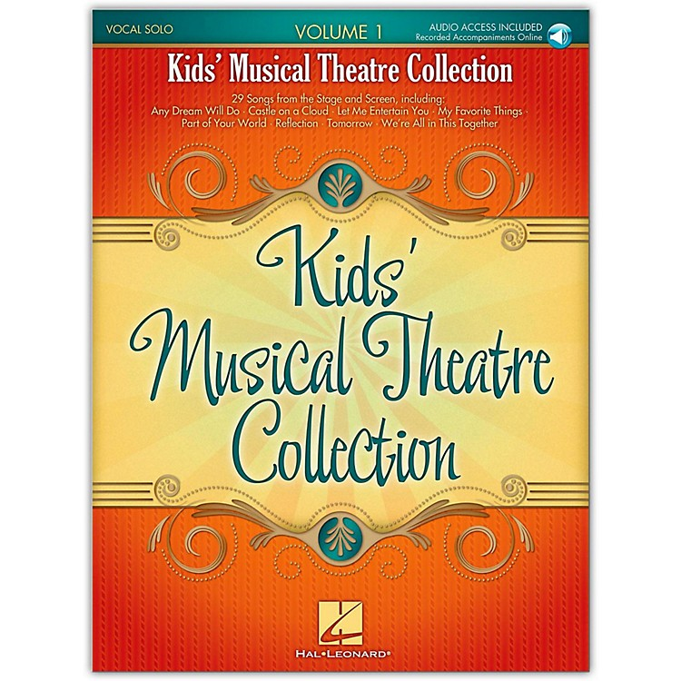 Hal LeonardKids' Musical Theatre Collection Volume 1 Book