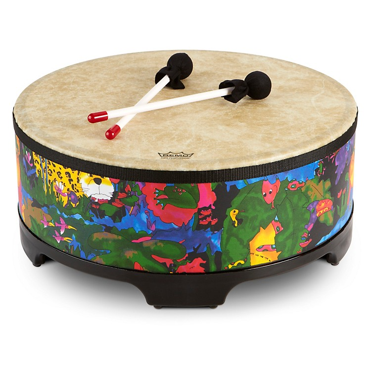 RemoKid's Percussion Rain Forest Gathering Drum18 x 8 in.