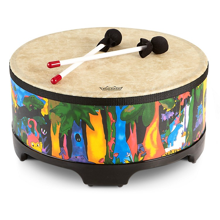 Remo Kid's Percussion Rain Forest Gathering Drum  8 x 16 in.