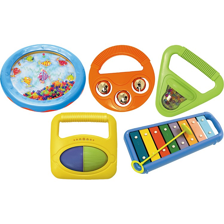Hohner Kids Toddler Music Band Set of 5 Pieces