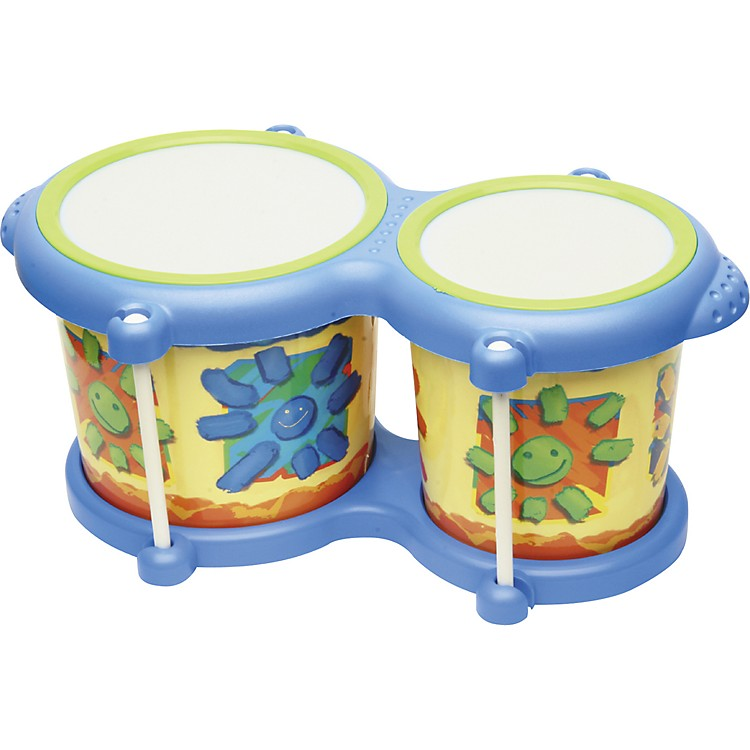 HohnerKids Toy Bongos4 and 5 Inch Heads