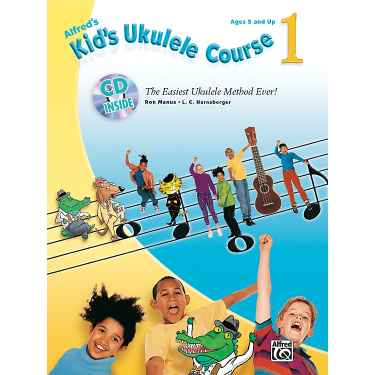 AlfredKid's Ukulele Course 1 Book and CD