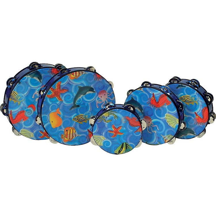 Kids Play Kidsplay Tambourines 8 in. Double Row