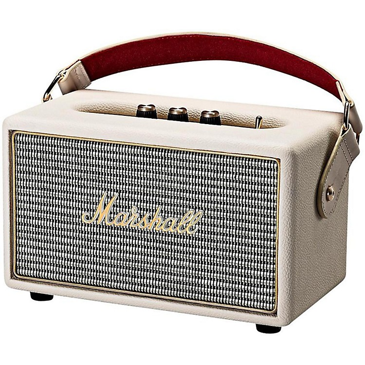 MarshallKilburn Portable Bluetooth Speaker, BlackCream