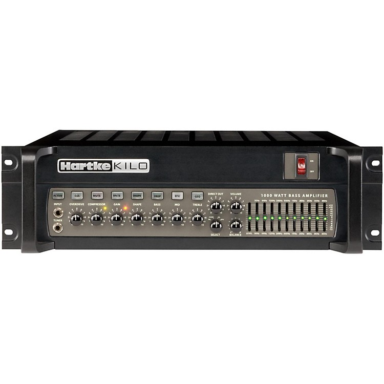 Hartke Kilo 1000 Watt Tube Bass Amp Head Black