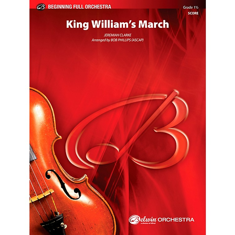 AlfredKing William's March Full Orchestra 1.5 Set