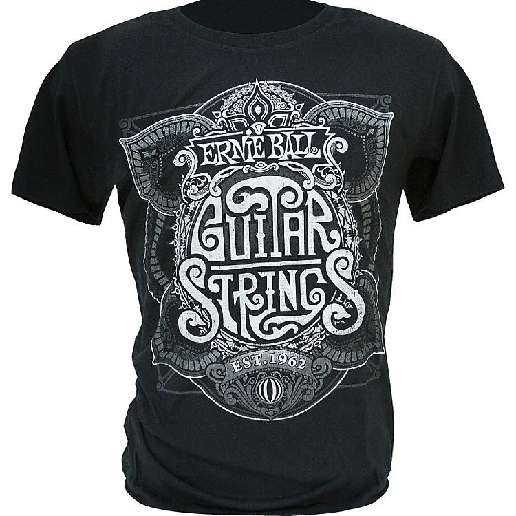 Ernie BallKing of Strings T-ShirtBlackSmall