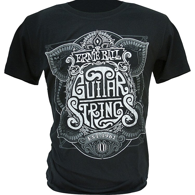 Ernie Ball King of Strings T-Shirt Black X-Large