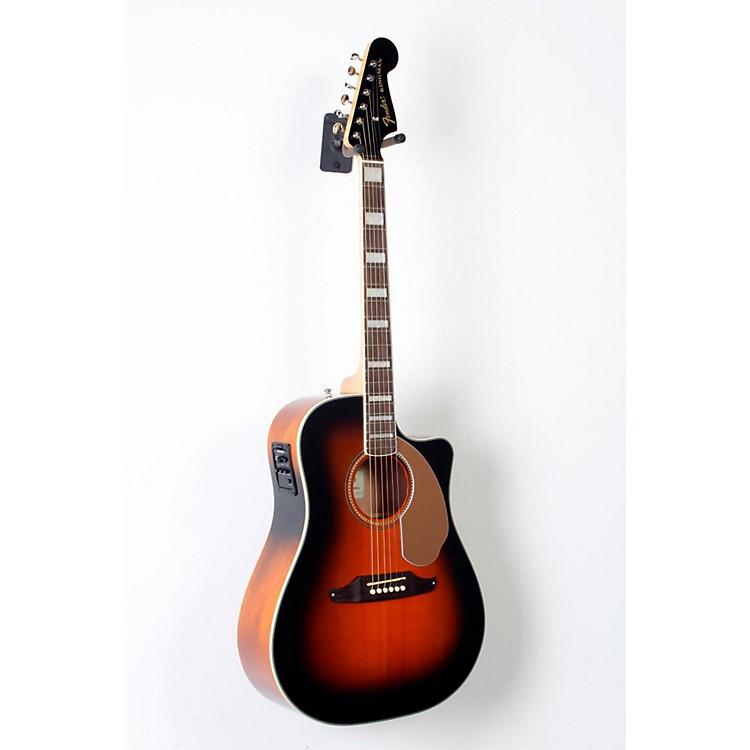 FenderKingman ASCE Dreadnought Cutaway Acoustic-Electric Guitar3-Color Sunburst888365800653