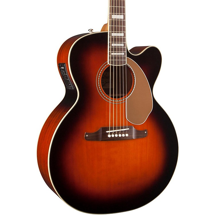 Fender Kingman Jumbo SCE Acoustic-Electric Guitar 3-Color Sunburst
