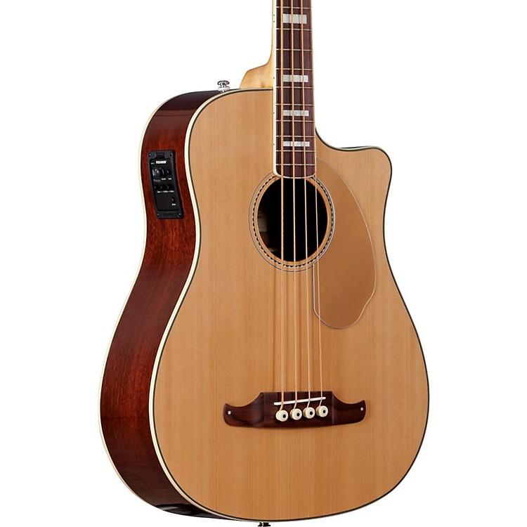 FenderKingman SCE Acoustic-Electric Bass GuitarNatural