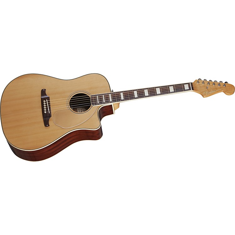 Fender Kingman SCE Acoustic Electric Guitar Natural