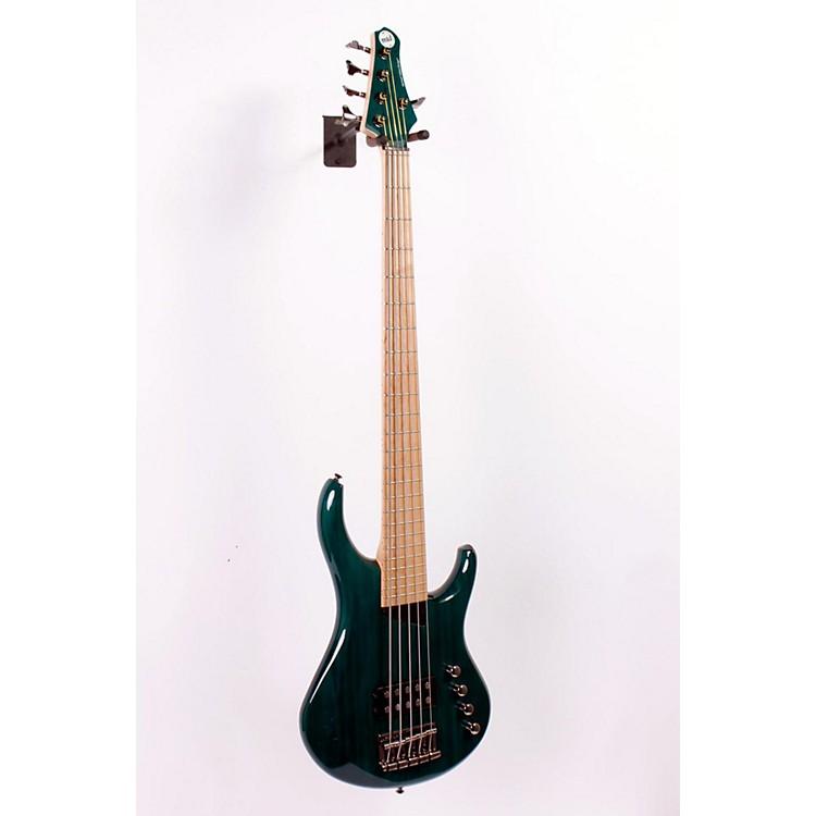 MTDKingston Artist 5-String Bass GuitarTransparent Blue886830814532