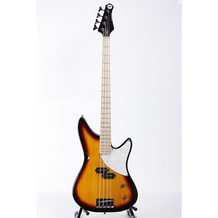 MTD Kingston CRB 4-String Electric Bass Guitar Tobacco Sunburst 886830362644