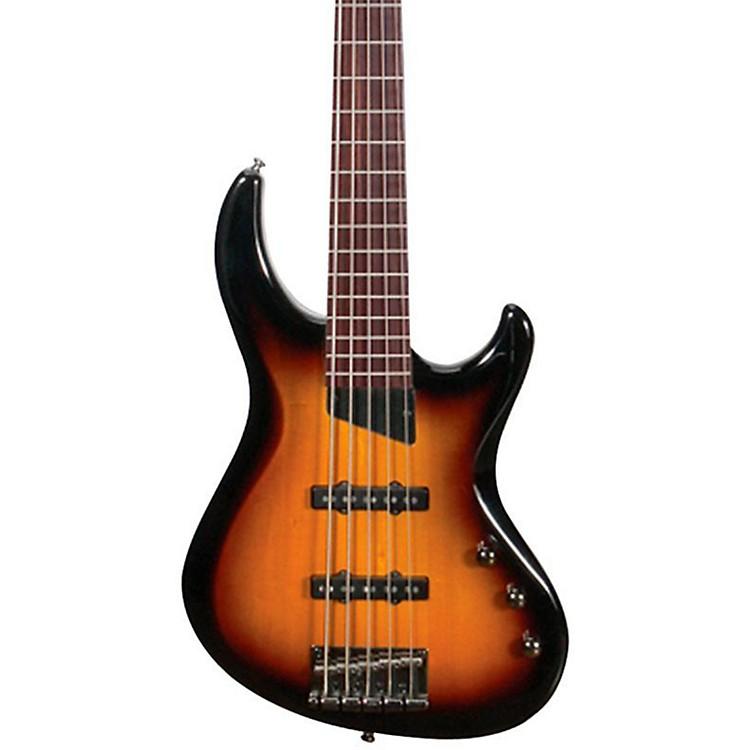 MTDKingston Saratoga 5-String Electric Bass GuitarTobacco SunburstMaple Fingerboard
