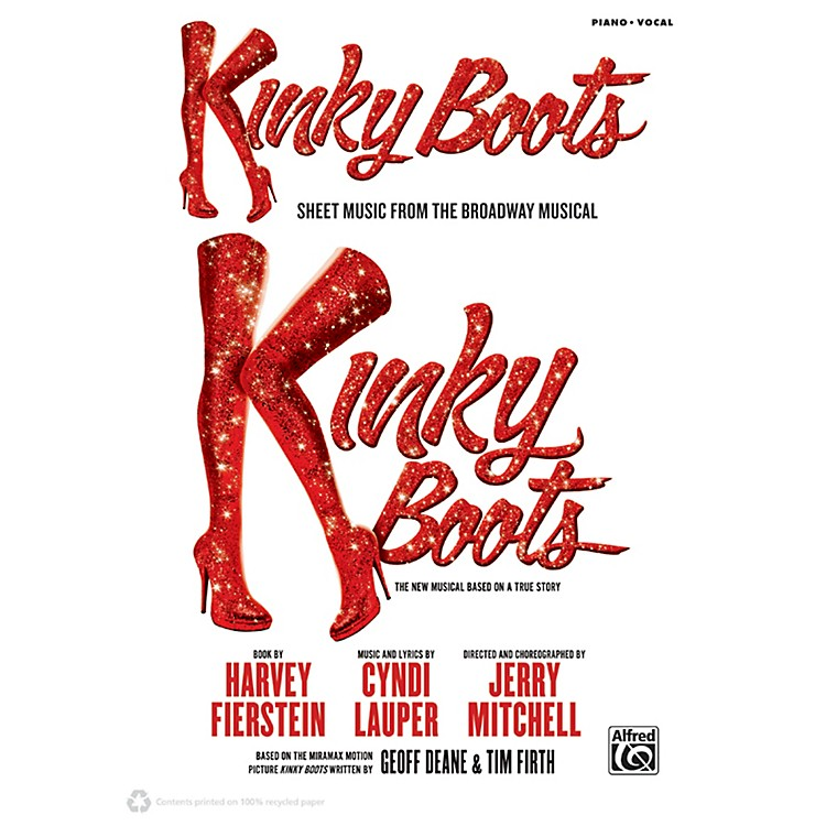 AlfredKinky Boots - Sheet Music from the Broadway Musical P/V/C Book