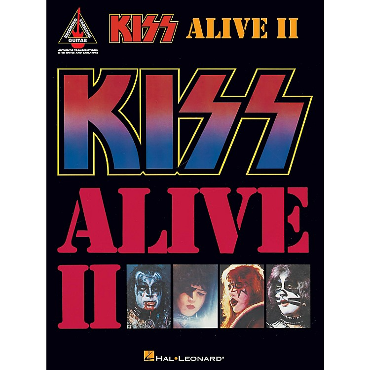 Hal LeonardKiss - Alive II Guitar Tab Songbook