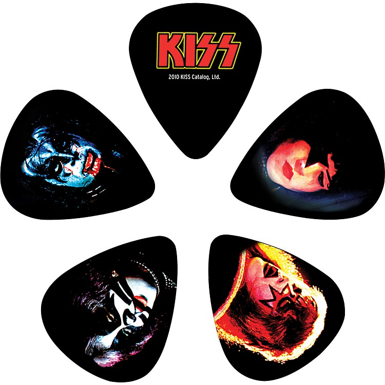 Planet Waves Kiss ALIVE II Guitar Picks 10 Pack