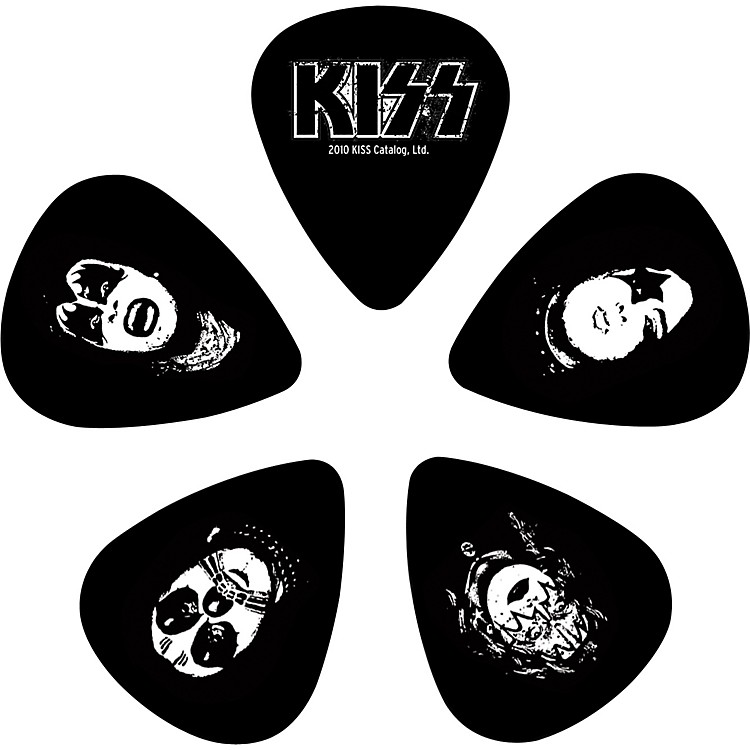 Planet Waves Kiss Logo Guitar Picks 10 Pack