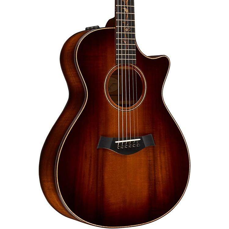TaylorKoa Series K22ce Grand Concert Acoustic-Electric GuitarShaded Edgeburst