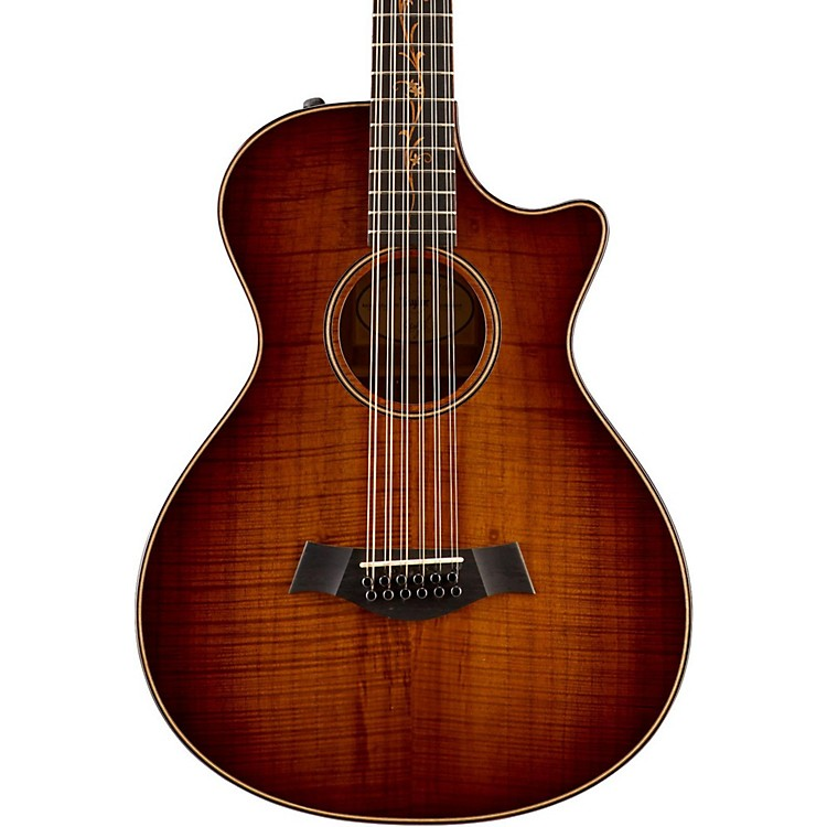 TaylorKoa Series Limited Edition K62ce 12-String Grand Concert Acoustic-Electric GuitarShaded Edge Burst