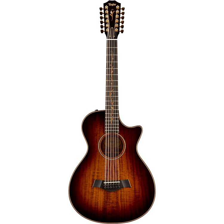 Taylor Koa Series Limited Edition K62ce 12-String Grand Concert Acoustic-Electric Guitar Shaded Edge Burst