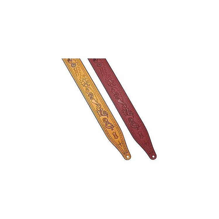 Levy's Kokopelli Guitar Strap Burgundy