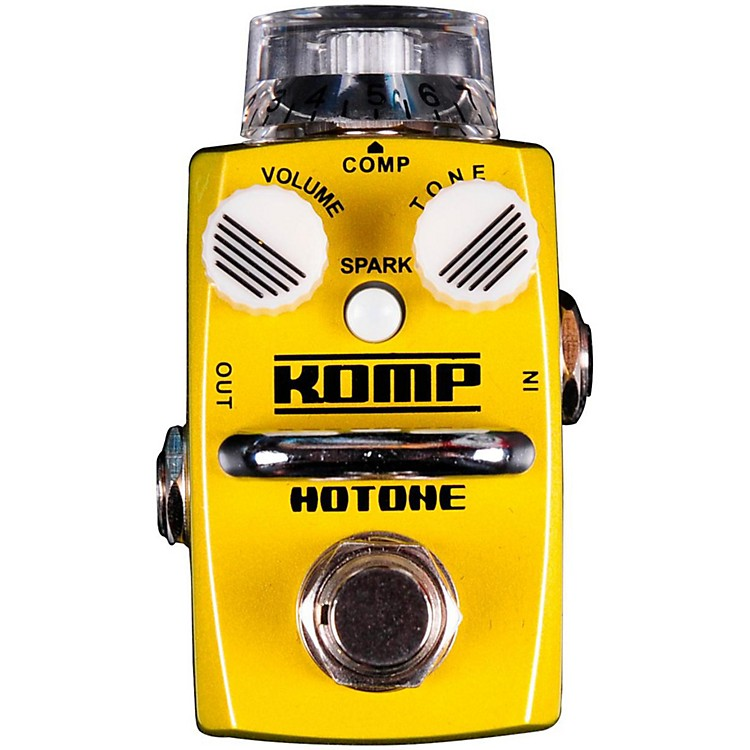 Hotone EffectsKomp Opto Compressor Skyline Series Guitar Effects Pedal