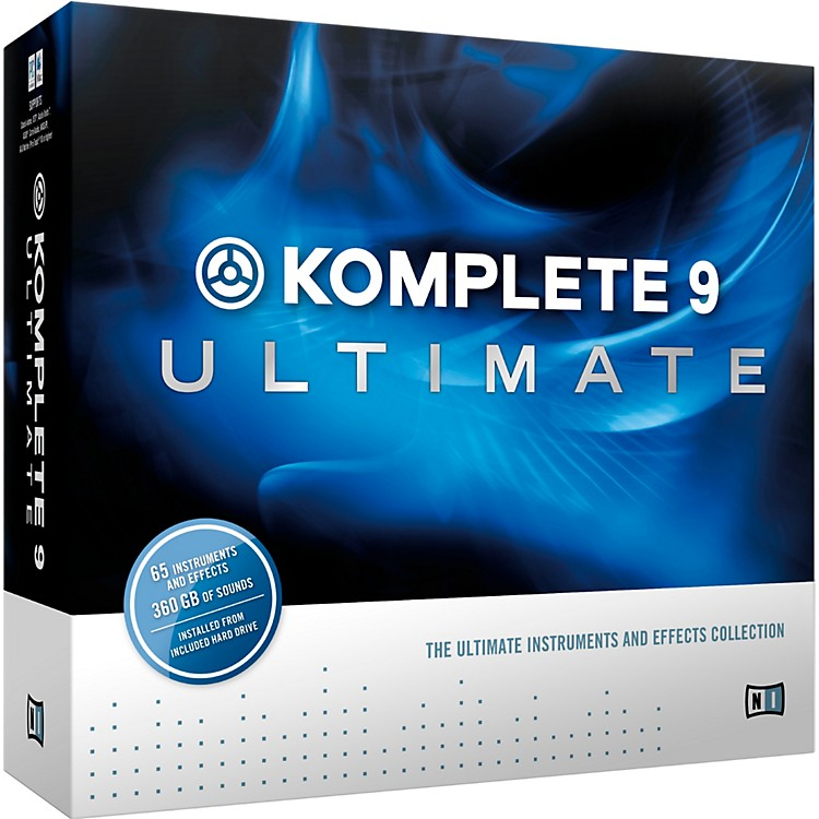 Native Instruments KOMPLETE 9 Ultimate CRG