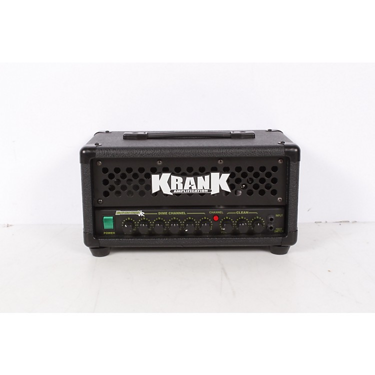 Krank Krankenstein Jr. 20W Tube Guitar Amp Head Black 886830576782
