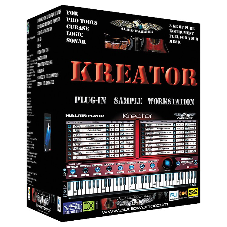 AudioWarrior Kreator Plug-In Sample Workstation