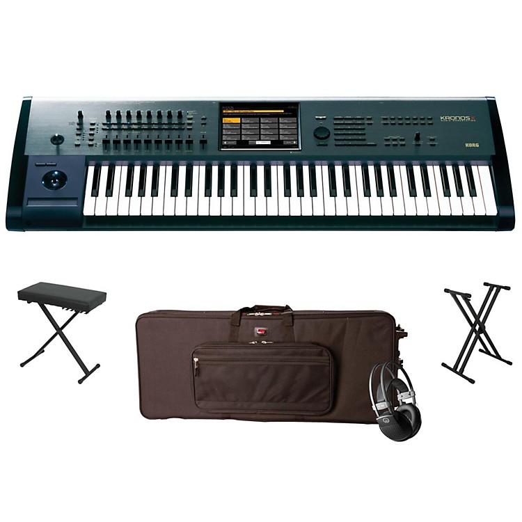 Korg Kronos X 61-Key Workstation Package 1