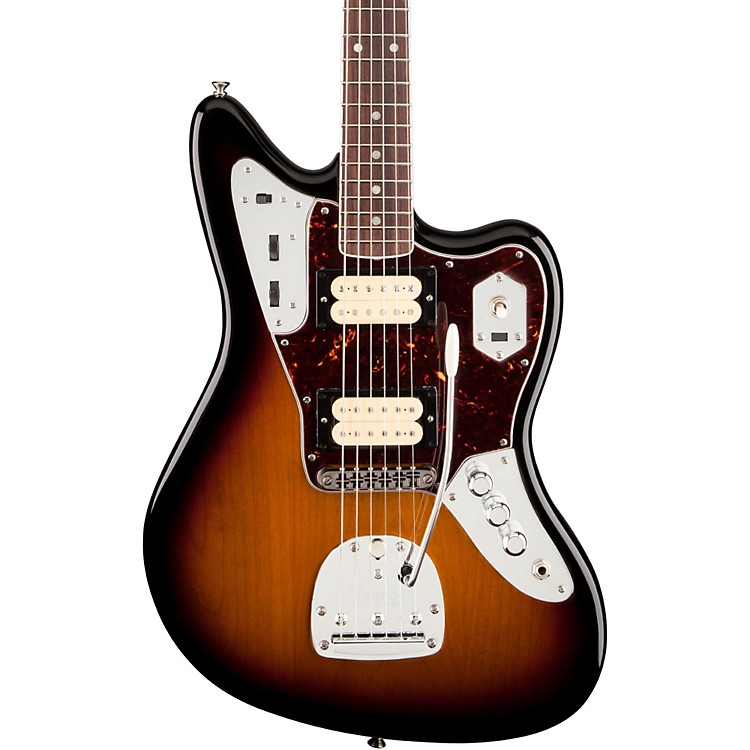 fender kurt cobain jaguar nos electric guitar 3 color sunburst music123. Black Bedroom Furniture Sets. Home Design Ideas