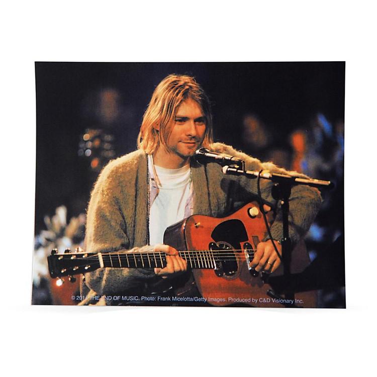C&D VisionaryKurt Cobain Playing Sticker