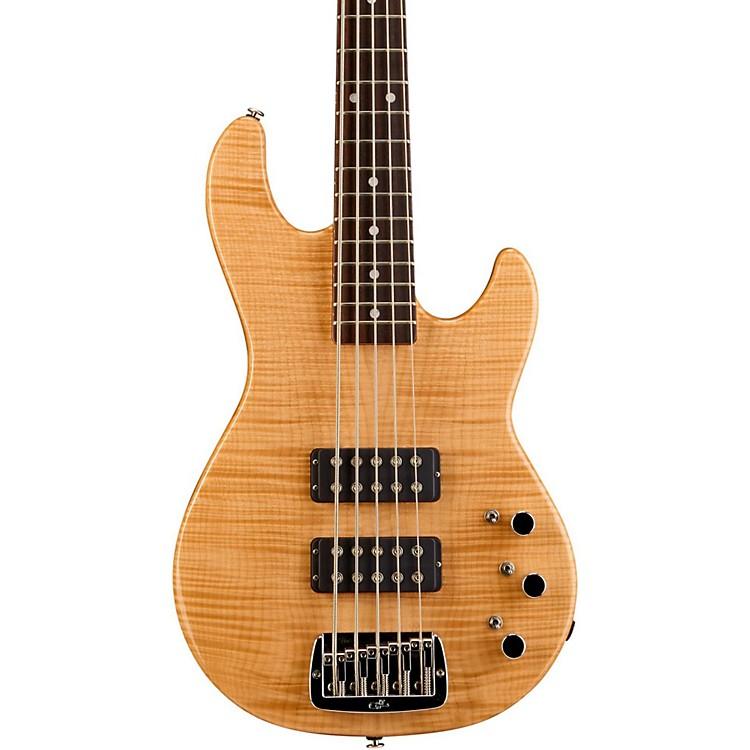G&LL-2500 5-String Bass GuitarNatural GlossRosewood