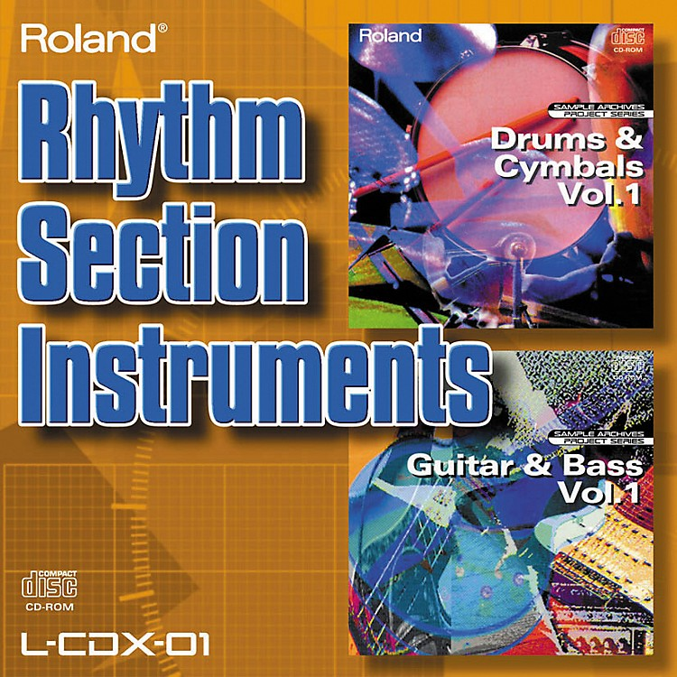Roland L-CDX-01 Rhythm Section Instruments
