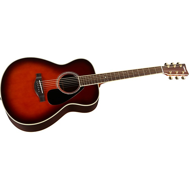 Yamaha L Series LS6 Concert Acoustic Guitar Tobacco Brown Sunburst