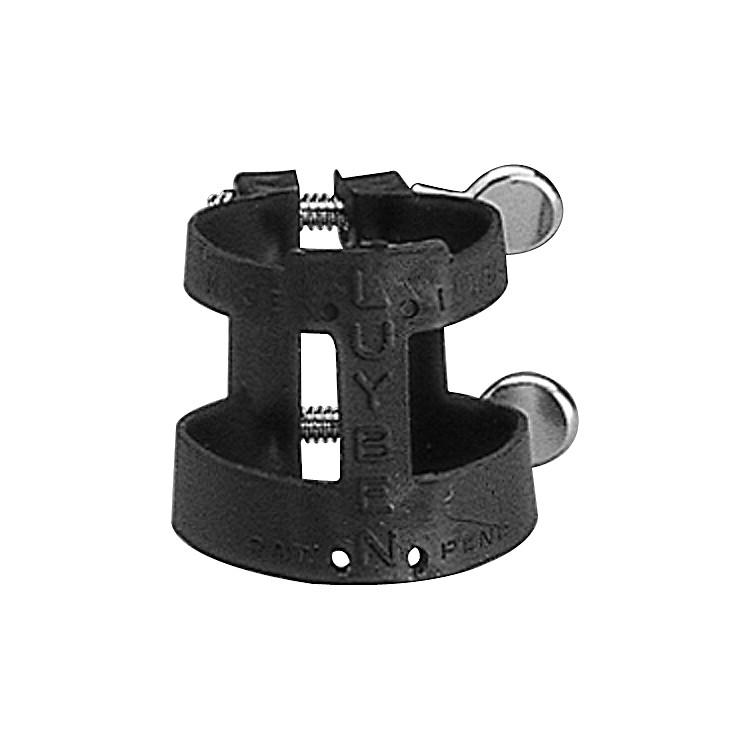 Luyben L2215 Bb Clarinet Ligature Black