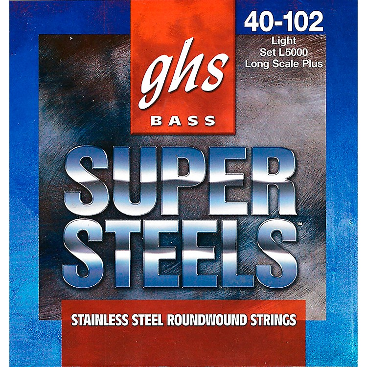 GHS L5000 Super Steels Electric Bass Strings