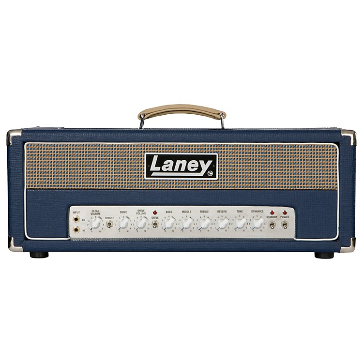 Laney L50H 50W Tube Guitar Amp Head Black