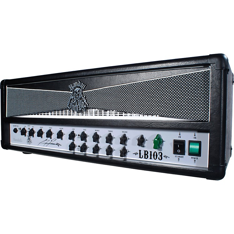 Randall LB103 George Lynch Signature 100W Tube Guitar Amp Head Black and White